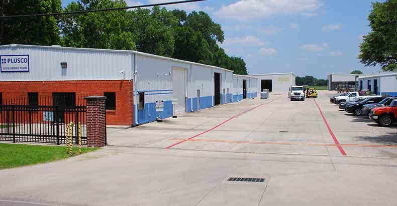 PLUSCO Facilities Entrance