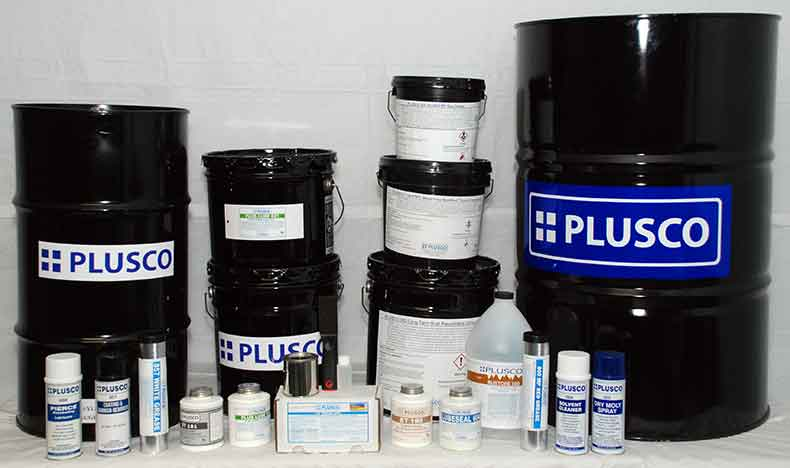 PLUSCO 372 Black Water Reducible OD Pipe Coating