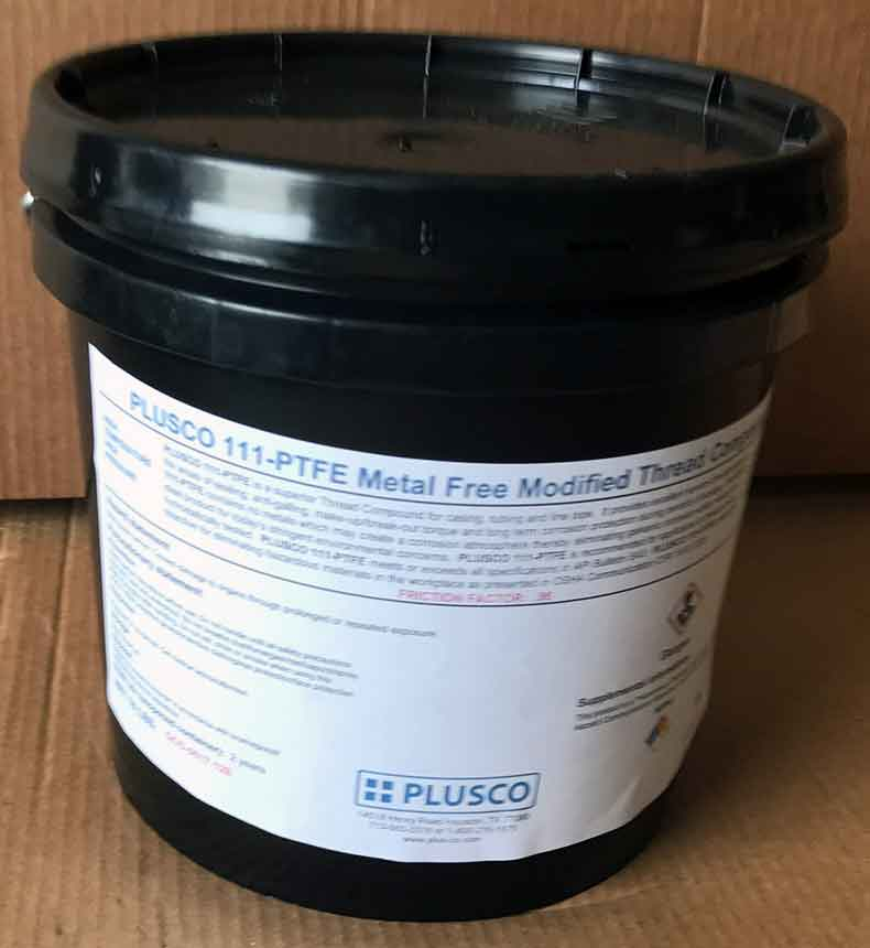 PLUSCO 111 PTFE Metal Free Modified Thread Compound