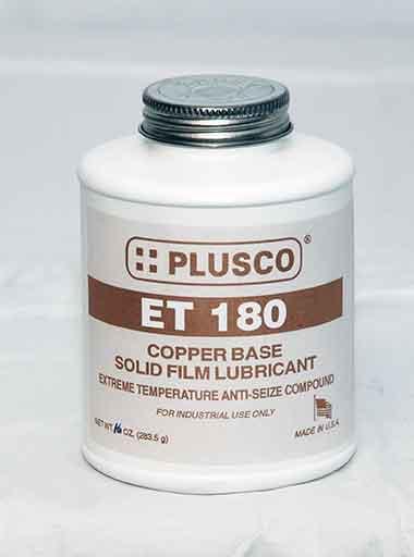 PLUSCO 180ET Extreme Temperature Anti-Seize Lubricating Compound