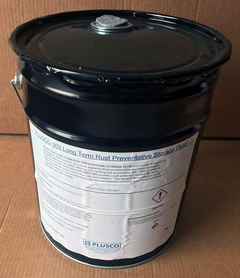 PLUSCO 303 Long Term Rust Preventative Storage Fluid